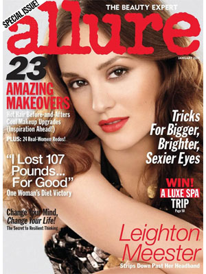 Leighton Meester Allure Magazine January 2011
