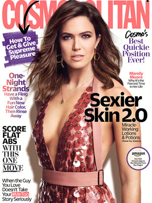 Mandy Moore Cosmopolitan Magazine March 2018