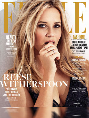 Reese Witherspoon Elle Magazine February 2017