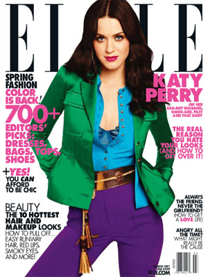 Katy Perry Elle Magazine March 2011
